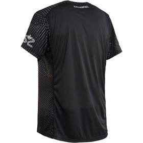 Salming Breeze Camiseta Hombre, black aop/black melange
